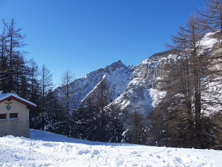 Winter in the Maritime Alps